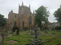 amazing church and a cemetery....bonus!