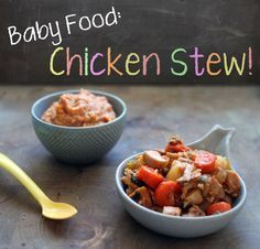 Recipe chicken stew recipe chicken, baby first foods, toddler meals, toddle Baby Puree Recipes, Pureed Food Recipes, Baby Food Recipes, Meat Recipes, Snack Recipes, Healthy Recipes, Drink Recipes, Stew Chicken Recipe, Chicken Recipes