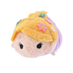 Introducing Disney's Rapunzel mini (S) Tsum Tsum stuffed toy. Official Disney Character Goods Store. Fashion, merchandise, toys, stationary and many other types of goods available. Also great for ordering presents and gifts online.