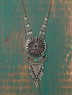 Free People Nephi Fringe Necklace