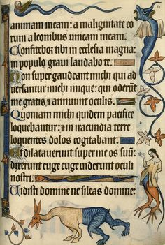 A few highlights from what is one of the most amazing manuscripts ever produced - The Lutrell Psalter @BLMedieval pic.twitter.com/ypLnNuWbzV --- via Damien Kempf (DamienKempf) on Twitter