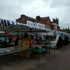 Farmers Market in Ludlow, Shropshire