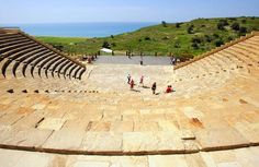 Love Kourion Theatre, just outside of Limassol, Cyprus