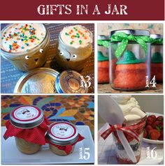 gifts in a jar, crafts in a jar, food in a jar, drinks in a jar......they are all here.