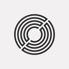 new geometric design every dayBuy my posters on LinxSupply Geometric Circle, Geometric Logo, Geometric Designs, Geometric Shapes, Gfx Design, Vector Design, Icon Design, Graphic Design, Tattoo Geometrique