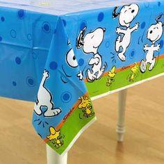 Fiesta infantil con decoración de Snoopy | Fiesta101