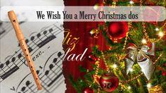 Partitura We Wish You a Merry Christmas dos Flauta Dulce