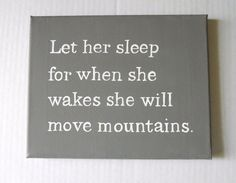 Not only for little girl rooms...I could use one everywhere I sleep