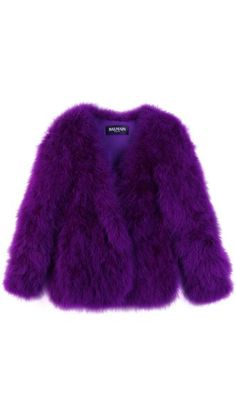Balenciaga Purple Coat ♥♥
