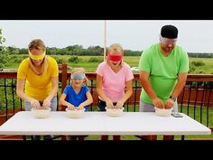 Epic Family Minute to Win It Olympics! - YouTube