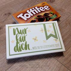 Stampin' Up! Schokoladenverpackung, Toffifee, Stempelset Blumen für Dich, Prägeform Große Punkte,  SAB 2016 www.stempelrausch.de