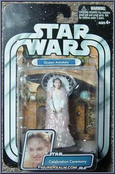 Queen Amidala (Celebration Ceremony) from Star Wars - Original Trilogy Collection - Basic Series manufactured by Hasbro [Front]