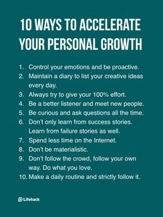 Steady Growth Comes With Time, Rapid Growth Comes From These 10 Actions Adapted from Quora Life Advice, Good Advice, Motivational Quotes, Inspirational Quotes, Quotes Positive, Le Management, Good Listener, Encouragement, Self Improvement Tips