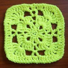 Crochet Afghan Square - free pattern