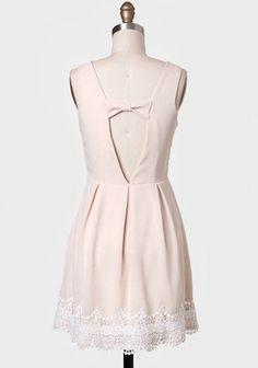 Sweetest Moment Cutout Detail Dress | Modern Vintage Dresses | Modern Vintage Clothing