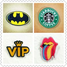 Wholesale VIP Style Cartoon Badge Acrylic Brooch For Women/Man Clothes Badge Decorative Rozet Collar Scarf Lapel Pin Broach #clothing,#shoes,#jewelry,#women,#men,#hats,#watches,#belts,#fashion,#style