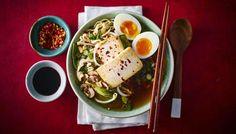 BBC - Food - Recipes : Simple miso, tofu and mushroom ramen