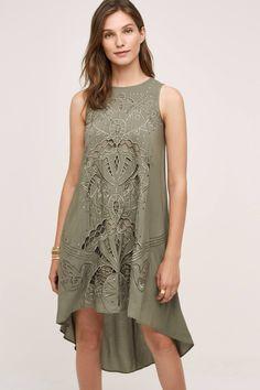 Cutwork Tunic Dress - anthropologie.com