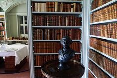 Wimpole Hall Library    Architect: Sir John Soane