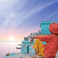 #INDIA: Río Ganges.
