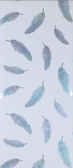 """Shimmering jewel-like feathers float on a contrasting ground.Please allow 1 - 2 weeks to ship out and receive tracking. Material: Non woven ,Washable Pattern Repeat: 20½"""" Roll Dimensions: 10m x 52cm Hanging instructions are included with every roll of wallpaper. We recommend your paper hanger reads these instructions carefully before starting to hang.Please note: Burke Decor does not accept wallpaper returns at this time. Why? Wallpaper is produced in batches (similar to tile) and due to dye-lot Simple Iphone Wallpaper, Eyes Wallpaper, Cute Tumblr Wallpaper, Cute Wallpaper For Phone, Iphone Wallpaper Tumblr Aesthetic, Cute Patterns Wallpaper, Iphone Background Wallpaper, Aesthetic Pastel Wallpaper, Pretty Wallpapers For Iphone"""