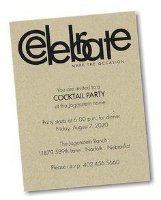 Celebrate Party Invitation