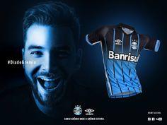 Terceira camisa do Grêmio 2016-2017 Umbro