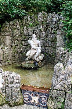 Hellbrunn Palace Fountain ~ Salzburg, Austria