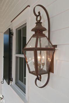 The Tradd Street II Lantern — Gas or Electric | The  Collection Lanterns | Carolina Lanterns