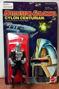 Battlestar Galactica Cylon Centurian MOC Mattel 1978