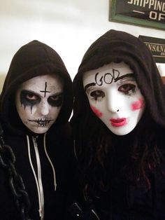 Image result for the purge diy costume