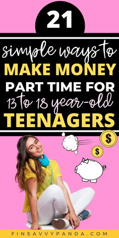 20 Easy Online Jobs For Teens That Pay Well - Finsavvy Panda Online Jobs For Teens, Easy Online Jobs, Online Jobs From Home, Legitimate Online Jobs, Earn Money Online Fast, Work From Home Tips, Extra Cash, Teaching English, Passive Income