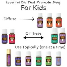 Essential Oils That Promote Sleep For Kids