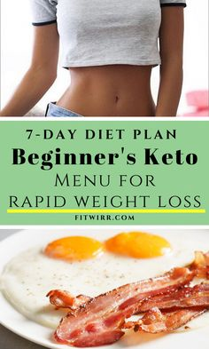 7-day beginner's keto diet plan and menu for rapid weight loss. Low-carb keto diet is an easy ways to lose weight, burn fat and improve health, and this keto menu makes sticking to eating keto easier.  #ketodietmealplan #ketoweightloss #ketodietmenu #eatingketo #ketobasics #ketoweightlossplan #BestDietPlanForWeightLoss Best Diet Plan For Weight Loss, Low Fat Diet Plan, Best Diets To Lose Weight Fast, Diet Plans To Lose Weight Fast, Healthy Weight, Ketogenic Diet Meal Plan, Keto Meal Plan, Diet Meal Plans, Diet Menu