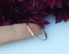 Super Thin Platinum Wedding spacer band ring ultra skinny narrow petite 18kt…