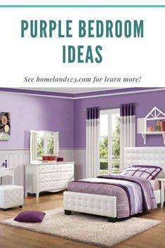 Inspiring of Purple Bedroom Purple Bedrooms, Unique Home Decor, Innovation, Warm, Bedroom Ideas, Inspiration, Furniture, Diy, Purple Rooms