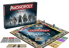 Assassin´s Creed Brettspiel Monopoly *Englische Version*