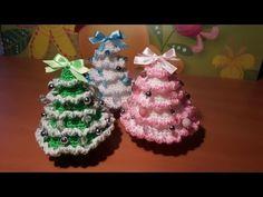 Tutorial Albero di Natale all'uncinetto SENZA punto coccodrillo | How to crochet a Christmas Tree - YouTube