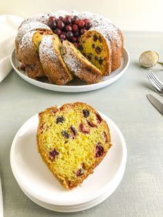 Cranberry Orange Bundt Cake – Amy's Delicious Mess Donut Recipes, Pudding Recipes, Sweets Recipes, Pie Recipes, Orange Bundt Cake, Cranberry Nut Bread, Trifle Recipe, Homemade Desserts, Dried Cranberries