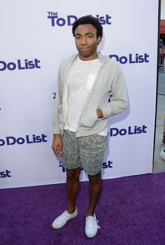 #DonaldGlover at the premiere of #TheToDoList