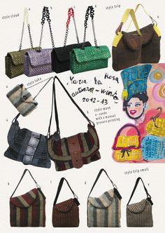 Design Inspiration, Maria La Rosa   interesting shapes and use of fabrics