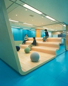 A day in the land of nobody — Beacon Communications group by klein dytham. Office Space Design, Workplace Design, Library Design, Office Interior Design, Office Interiors, Design Interiors, Commercial Design, Commercial Interiors, School Architecture