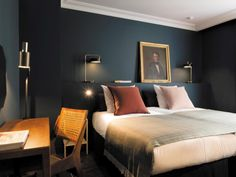 COQ Hotel Paris Offers in the best selling hotels book now, cancel at no cost Luxury Hotels · Price Guarantee · Opinions· Free Hotel Nights · Last Minute Deals Types: Coq Hotel Paris, Paris Hotels, Design Hotel, House Design, Home Bedroom, Bedroom Decor, Master Bedrooms, Paris Bedroom, Bedroom Ideas