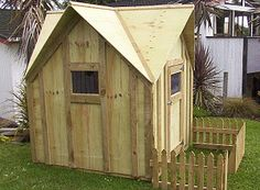 How to build a Kids Play Cottage