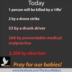 Stop abortion! It's murder!