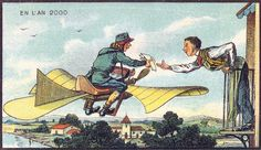 19th Century Postcards Predicted the World in the Year 2000 - My Modern Met