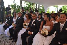 NONATO NOTÍCIAS: 47 casais oficializaram a união no Casamento Colet...