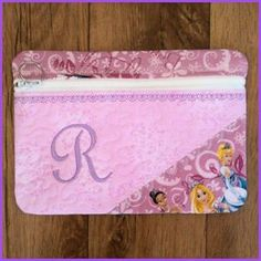 Large Make Up Bag (Pencil Case) - In-the-hoop - Free Instant Machine Embroidery Designs