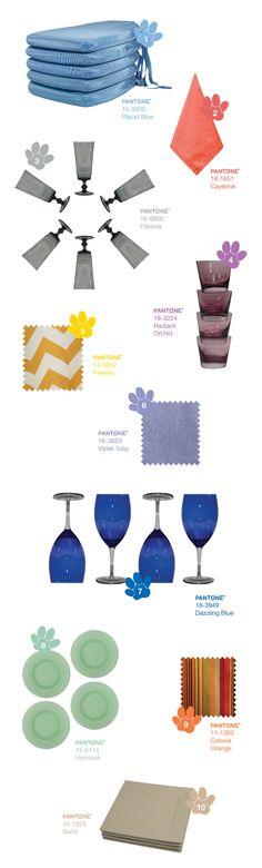 Trend Alert: Pantone Spring 2014 Top 10 Colors - Party Rental Ltd