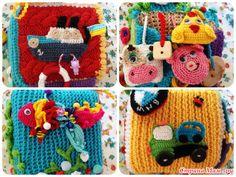Развивающие кубики крючком - Вязание - Страна Мам